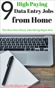 Get paid to type with these work from home data entry jobs data 9 best data entry jobs from home 9 best data entry jobs from home fandeluxe Choice Image