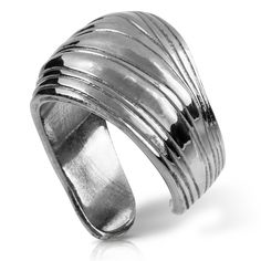 Palm Frond Ring : Gogo Jewelry #Silver #Jewelry