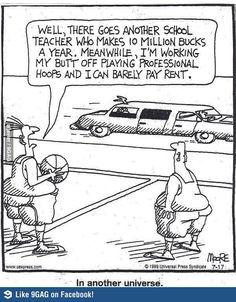 You can't underestimate the power of good teacher jokes. Here are some funny puns and jokes that every educator can relate to. Teacher Jokes, Teacher Problems, Math Jokes, My Teacher, School Teacher, Chemistry Jokes, Teacher Comics, Biology Humor, Grammar Humor
