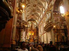 Stunning Basilica in Poland http://www.amazingeuropetravel.com/divine-mercy-pilgrimage-special-tour/