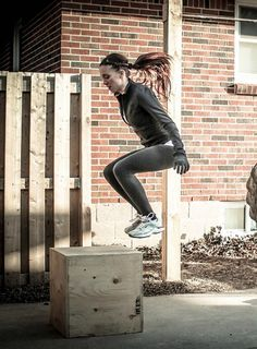 I miss box jumps! Did them in high school at track practice.  Best exercise ever! Had terrible bruises though.