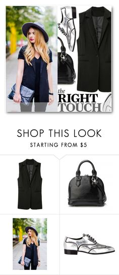 """""""The Right Touch"""" by stylemoi-offical ❤ liked on Polyvore featuring Giuseppe Zanotti and stylemoi"""