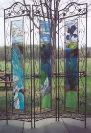 Αποτέλεσμα εικόνας για stained glass room divider