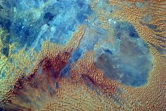 Sahara Desert From the Space Station's EarthKAM