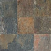 Found it at Wayfair - Cleft Slate Tile in Rustic Gold