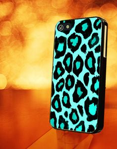 LEOPARD TURQOUISE - iPhone 4 Case, iPhone 4s