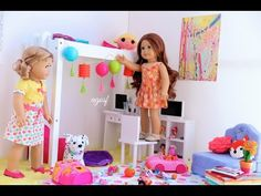 Packing for American Girl Doll Grace! HD WATCH IN HD! - YouTube