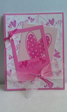 XOXO - Valentine card