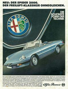 Alfa Romeo Spider 2000  #alfa #alfaromeo #italiancars @automobiliahq