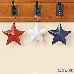 Barn Star Ornaments 1 dozen ornaments- $12.50
