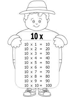 Jawaher_kids&Nisâa: بطاقات جدول الضرب من 1 إلى 10 لحيوانات المزرعة و ا...