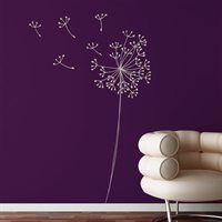 Look at this Snowdown Decal Set by Mia Co Lilacs, White Vinyl, Interior Exterior, Cool Walls, My Favorite Color, Decoration, Periwinkle, Wall Art Decor, Chinoiserie