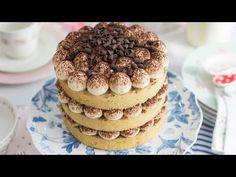 Nude Cake de tiramisú - Receta - María Lunarillos   tienda & blog - YouTube