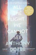 BOOK $20 GLEEBOOKS All the Light We Cannot See