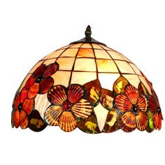 Floral patterns are a favorite of many people who are seeking to add a Tiffany lamp to their decor, and apart from the wisteria you can find other lovely blooms such as roses and tulips.