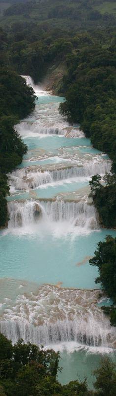 Mexico | Chiapas | Cascadas de Agua Azul