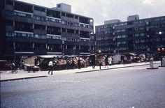 Market Square, Roman Road bethnal green 1964 East End London, Old London, Tower Hamlets, Roman Roads, Bethnal Green, Local History, London England, Old Photos, Childhood Memories