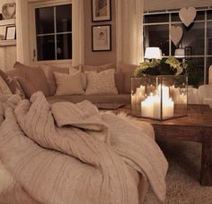 Nice white beige living room