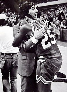this moment >>>> Coach V - N.C. State beats Houston dream team in the Pit in NM!!