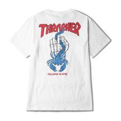 Trasher T-shirt (270 DKK) ❤ liked on Polyvore featuring men's fashion, men's clothing, men's shirts, men's t-shirts, mens cotton t shirts and mens cotton shirts