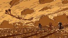 ca-tsuka:   Fushigi no umi no Nadia ending - Evangelion version ;-)