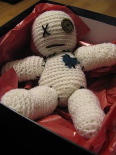 Seriously...the cutest creepy crochet project I've seen yet.