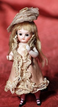 Little all bisque doll.