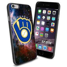 Milwaukee Brewers MLB Galaxy Logo WADE6138 Baseball iPhone 6 4.7 inch Case Protection Black Rubber Cover Protector WADE CASE http://www.amazon.com/dp/B013Z07TFA/ref=cm_sw_r_pi_dp_EUACwb11YS5BT