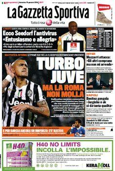 La Gazzetta dello Sport (19-01-14) Italian | True PDF | 36 19 pages | 9,06 9,04 Mb