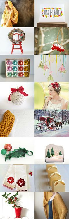 Ode to the Holidays by toni on Etsy--Pinned with TreasuryPin.com