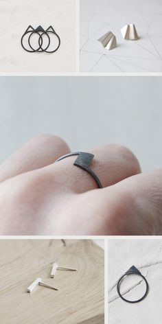 Minimalist Handmade Jewelry by AgJc   Etsy Favorites