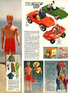 1972 Advertisement 4 PG Doll Mattel Barbie Malibu Ken Buggy Dancer Horse Go Go Mattel Barbie, Barbie And Ken, Christmas Catalogs, Christmas Books, Childhood Toys, Childhood Memories, Malibu Barbie, Retro Toys, Retro 2