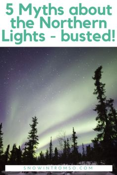 Headed up north to watch the Northern Lights? Here are 5 common myths you should know about! Norway Travel, Alaska Travel, Canada Travel, Visit Alaska, Visit Canada, Visit Sweden, Visit Norway, Trondheim, Stavanger