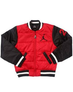 ab7a33edf2b91a Love this VARSITY BUBBLE JACKET (8-20) by Air Jordan on DrJays.