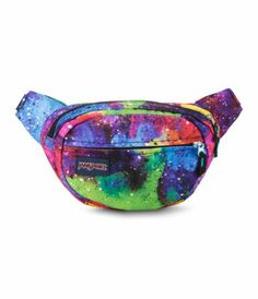 The JanSport Fifth Ave waist pack allows for everything you need to be within close reach. Coming in a variety of colorful prints and colorways, this waist pack will be by your side on every adventure. Cute Fanny Pack, Waist Purse, Rave Gear, Hip Bag, Waist Pack, Womens Fashion Online, Jansport Backpack, Medium Bags, Small Bags