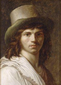 The Athenaeum - Self-Portrait (Anne-Louis Girodet de Roussy-Trioson - )