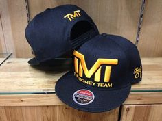 2014 Wholesale Free Shipping Black with Yellow Letter TMT Snapbacks Adjustable baseball snapback cap High Quality hats