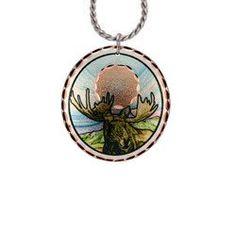 Moose Lynn Bean Native Design Necklace