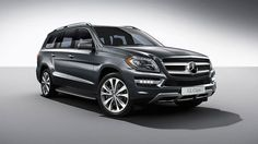 2014 Mercedes GL350 BlueTEC SUV - I wouldn't mind driving this around.