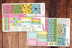 Hey, I found this really awesome Etsy listing at https://www.etsy.com/listing/511040986/california-love-mini-happy-planner-kit