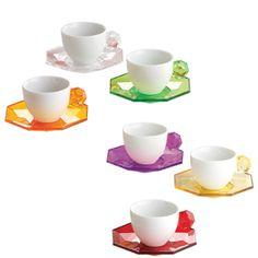 loving these jeweled teacups