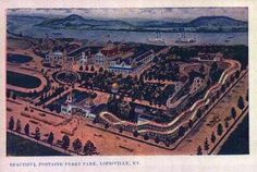 Fountain Ferry Park. Louisville's first amusement park long since torn down. Great place to go in the 50's & 60's
