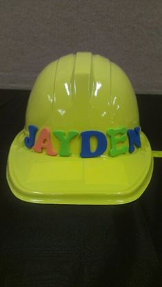 Construction party craft for kids