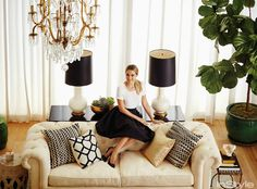 sadie + stella: Monday Musings: LC's Apartment in InStyle