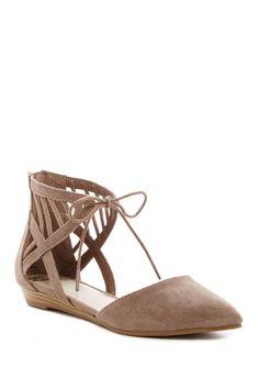 Classic Fergalicious Coco Embossed Ballet Flats