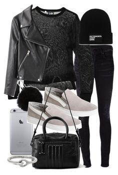 """""""Untitled #16814"""" by florencia95 ❤ liked on Polyvore featuring Citizens of Humanity, Cheap Monday, MICHAEL Michael Kors, AllSaints, October's Very Own and Acne Studios"""