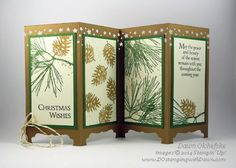 Another Screen Divider Card: Ornamental Pines - ooh!