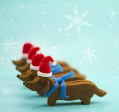 Project Denneler: Christmas Canine Cookies  Unbelievable!!