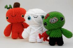 maybe christmas-y (or just adorable) things like these for ornaments/gifts?