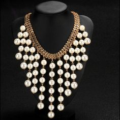 Bead tassel necklace Length: 54.5cm/21.3'' (with 8.5cm adjustable) ((Approx). Retail prices are ****Firm**** thanks Jewelry Necklaces